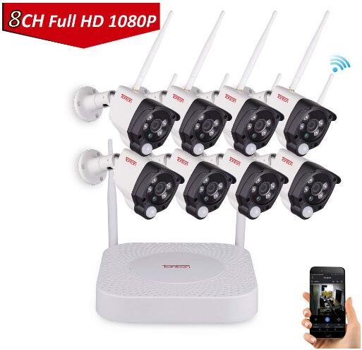 c611acae4 Tonton 1080P Full HD Wireless Security Camera System
